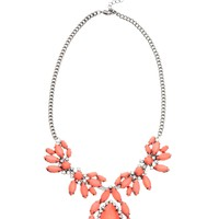 Johnny Loves Rosie Opaque Stone Burst Necklace