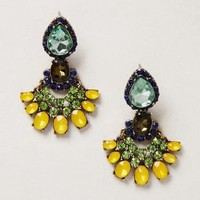 Zizi Petalwork Drops by Baublebar x Anthropologie Clear One Size Earrings