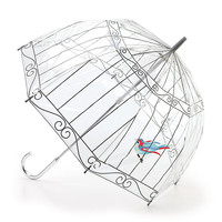 LULU GUINNESS BUBBLE DOME ~BIRDCAGE~UMBRELLA by FULTON NWT