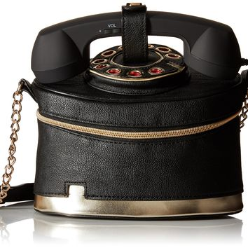 Betsey Johnson Telephone Cross Body Bag
