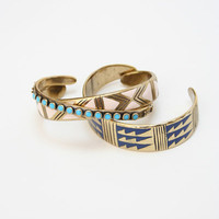 Beklina :: Kathryn Bentley Enamel Cuffs $160.