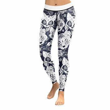 Skull Leggings & Yoga Pants High Quality Style 3