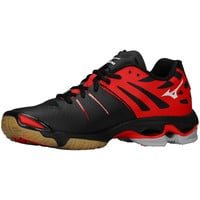 Mizuno Wave Lightning Z Women's Volleyball Shoes - Black Red