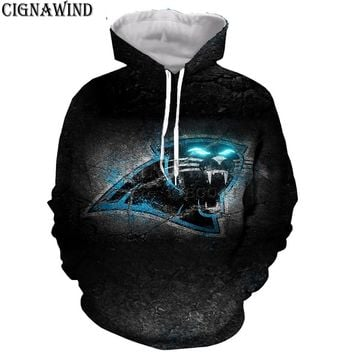 New Harajuku Carolina Panthers hoodies men women pullover hooded print 3D sweatshirts fashion cool sportswear hip hop streetwear