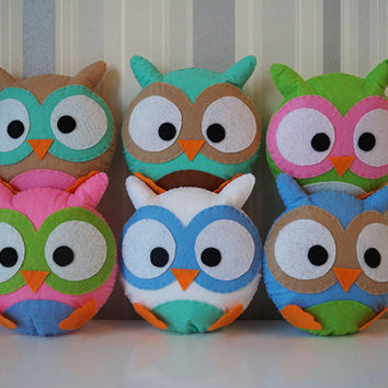 Shop Stuffed Owls For Baby On Wanelo