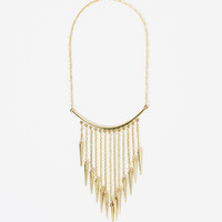 Tribal Arrows Statement Necklace