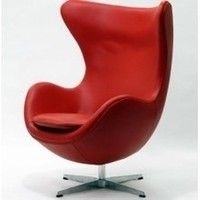 Egg Chair | Arne Jacobsen Egg Chair available in multiple colors. Reproduction Egg Chairs in leather.