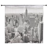 """New York City Skyscrapers 60"""" Curtains"""