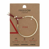 Fire Element Bracelet - Red