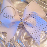 Infinity Cheer Bow by GlitterGirlBows on Etsy