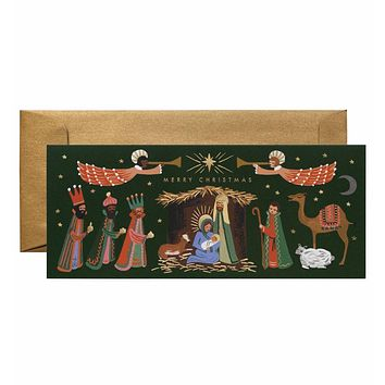 Holiday Nativity Card