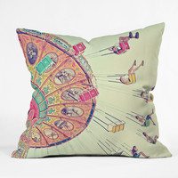 Shannon Clark Dizzying Heights Outdoor Throw Pillow