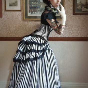 CARNIVALE QUEEN Gothic Steampunk Neo Victorian by lovechildboudoir