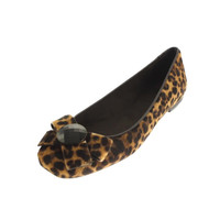 Stuart Weitzman Womens Showtune Leather Animal Print Casual Shoes
