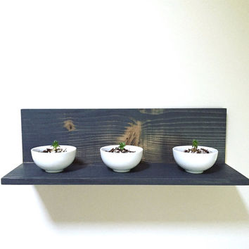 Shelf, Wall Shelf, Floating Shelf, Wood Shelf, Reclaimed Wood Shelf, Bathroom Shelf, Gold Decor, Modern Decor