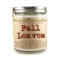Fall Leaves - 8oz Soy Candle