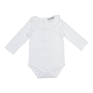 Mayoral Baby Girls' White Basic Bodysuit