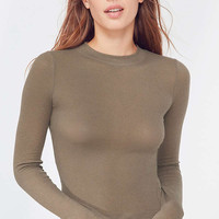 Out From Under Billie Shrunken Long Sleeve Top | Urban Outfitters