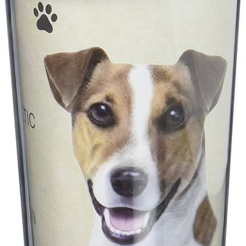 Jack Russell Terrier Thermos Travel Tumbler Mug
