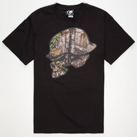 Metal Mulisha Realtree Hide Mens T-Shirt Black  In Sizes
