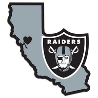 Oakland Raiders Home State Pride Vinyl Decal
