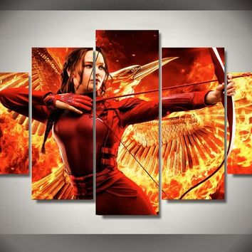 2017 Real Fallout Paintings Canvas Painting Cuadros High Quality Framed Hunger Games Movie Children's Room Decor Print Picture