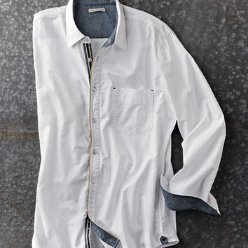 Whiteout Oxford Shirt-Carbon 2 Cobalt