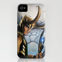 Loki iPhone Case by Kristen Willsher | Society6