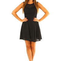 Perfect Independence Dress: Black