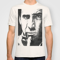Nicolas Cage T-shirt by DeMoose
