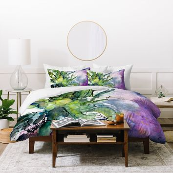 Ginette Fine Art Pineapple Top Duvet Cover