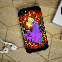 Kingdom Hearts Sleeping Beauty Stained Glass iPhone 6s Sintawaty.com