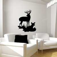 Deer Style I Vinyl Wall Decal 22335