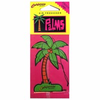 California Scents Coronado Cherry Palms Hang Outs Car Air Freshener