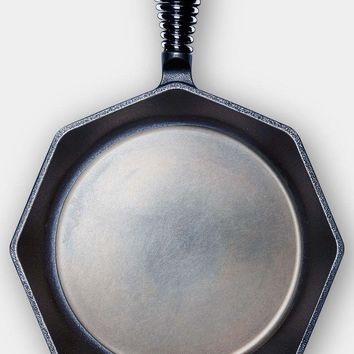 """Finex Cast Iron 12"""" Eight Side Skillet Cooking Pan NEW"""