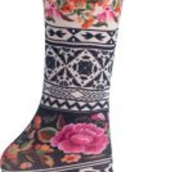 Style Meets Support Compression Socks