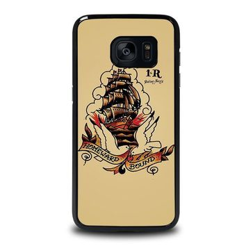 sailor jerry samsung galaxy s7 edge case cover  number 1