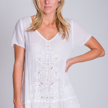 Rapture Top in White