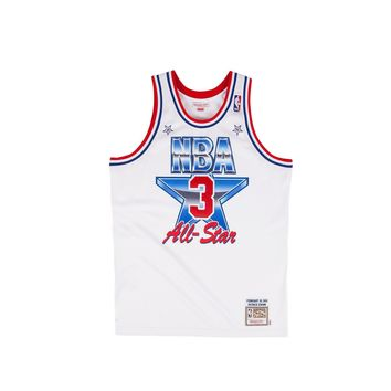 Mitchell & Ness Men's Patrick Ewing Authentic Jersey- White - Beauty Ticks