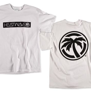 Heat Wave Emblem T-Shirt White (Size 3XL Only)
