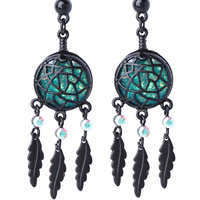 LOVEsick Opal Dreamcatcher Earrings