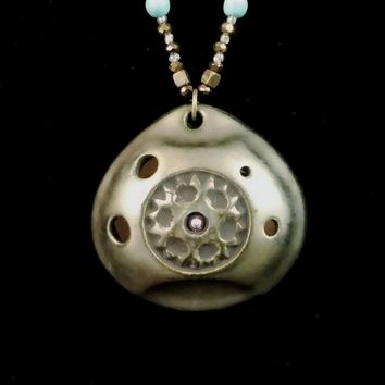 Pendant Ocarina Soprano G in Ancient Alloy