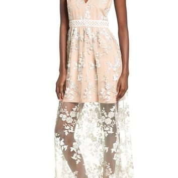 Wayf Oakfield Embroidered Dress | Nordstrom