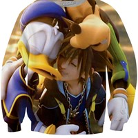 Kingdom Hearts Hug Crewneck Sweatshirt
