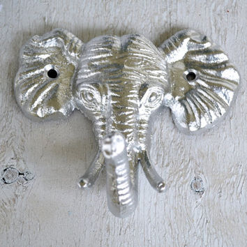 Elephant Hook, Cast iron Hook, Coat Hook, Robe Hook