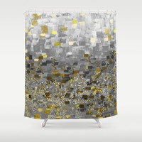 :: Honey Bee Compote :: Shower Curtain by :: GaleStorm Artworks ::