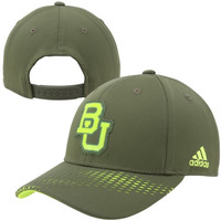 adidas Baylor Bears 2014 March Madness Structured Adjustable Hat - Green