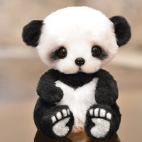 Panda Beth by Teddykind on Etsy