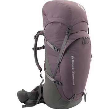 Black Diamond Onyx 55 Backpack - Women's - 3356-3478cu in Purple Sage,