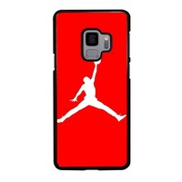 AIR JORDAN IN RED Samsung Galaxy S9 Case